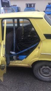 Jandarmadan Kablo Hırsızlarına Suçüstü