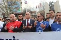 TÜRK SAĞLıK SEN - Kamu-Sen'den Afrin'e Destek Yürüyüşü
