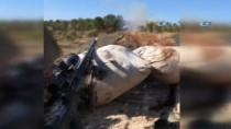 AZEZ - Katme Köyünde YPG Cephaneliği Vuruldu