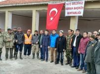 YABAN DOMUZLARI - Kırşehir'in Kaman İlçesinde Avcılar 'Domuz' Avına Çıktı