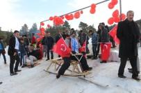 ÖMER DERECİ - Kızak Festivali renkli görüntülere sahne oldu