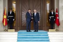 RESMİ TÖREN - Makedonya Başbakanı Ankara'da