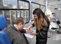 MUSTAFA AK - NEÜ Gezici Ağız Ve Diş Kliniği Hizmete SOBE'de Devam Etti
