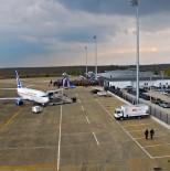 UÇAK TRAFİĞİ - Ocak Ayında Cengiz Topel Havalimanından 6 Bin 56 Kişi Uçtu