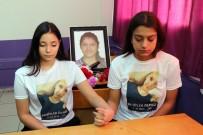 REHBER ÖĞRETMEN - Reyhanlı Şehidi Fatma'nın Okuldaki Sırası Karanfillerle Donatıldı