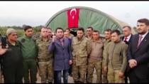 GAZİLER DERNEĞİ - Şehit Aileleri Ve Gazilerden Mehmetçik'e Marşlı Destek