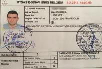 ŞEHİT UZMAN ÇAVUŞ - Şehit Asker Ehliyet Sınavına Başvurmuş