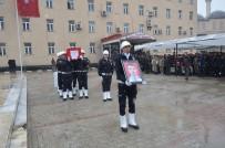HAKKARİ VALİSİ - Şehit Polis Memuru Törenle Memleketine Uğurlandı