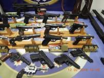 RUHSATSIZ SİLAH - Silah Kaçakçılarına Büyük Darbe Açıklaması 61 Gözaltı