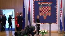 SIRBİSTAN CUMHURBAŞKANI - Sırbistan Cumhurbaşkanı Vucic, Hırvatistan'da