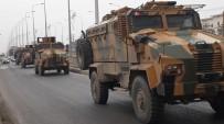 ZIRHLI ARAÇ - Şırnak'tan Sınıra Askeri Sevkiyat