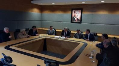Yenice Belediye Meclisin'den Şahin'e Ziyaret