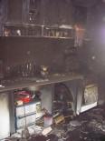 EMNİYET AMİRLİĞİ - 6 Çocuk Annesi Kadının Evinde Çıkan Yangın Korkuttu