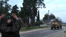 ZIRHLI ARAÇLAR - Afrin Sınırına Mehter Marşı Eşliğinde Sevkiyat
