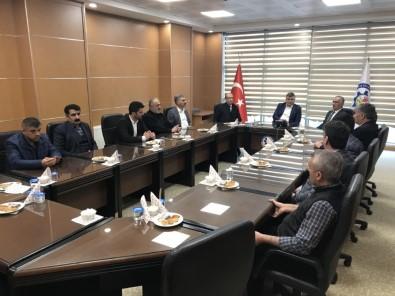 AK Parti Heyetinden MUŞ TSO'ya Ziyaret