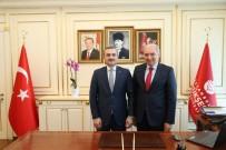MEVLÜT UYSAL - AK Parti İl Başkan Bayram Şenocak'tan, İBB Başkanı Uysal'a İade-İ Ziyaret