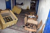 ALKOL SATIŞI - Aksaray'da 84 Şişe Sahte İçkiyle Yakalandı 'İçiciyim' Diye Kendini Savundu