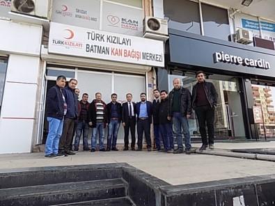 Batman'dan Afrin'deki Mehmetçik İçin Kan Bağışı