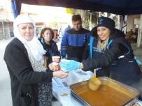 HÜSEYIN YıLMAZ - Büyükşehir Nazilli'de Çorba İkram Etti