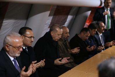 Cumhurbaşkanı Erdoğan, şehit ailesini ziyaret etti