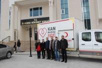 HÜKÜMET KONAĞI - Darende'de Kan Bağışına İlgi