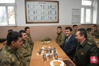 BİZ DE VARIZ - Dündar'dan Askere Moral Ziyareti