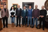 ALİ KORKUT - EGC'den Başkan Korkut'a Ziyaret