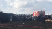 YANGıN YERI - Eskişehir'de büyük yangın şehri ayağa kaldırdı!