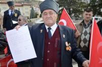 GAZİLER DERNEĞİ - Gönüllü Askerlik Müracaatında Bulunan 87 Yaşındaki Raşit Tekşen;