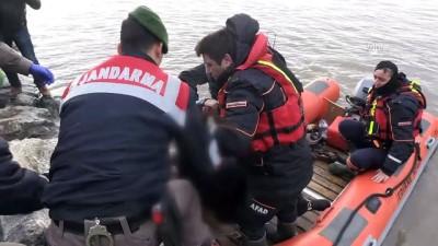 GÜNCELLEME 4 - Meriç Nehri'nde Kaçakları Taşıyan Bot Battı