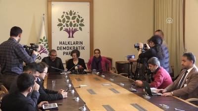 HDP Grup Başkanvekili Kerestecioğlu Açıklaması