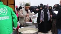 RAKKA - İHH Suriye'deki Sivillere Yardımlarını Sürdürüyor