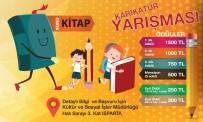 KITAP FUARı - Isparta'da 'Kitap' Konulu Karikatür Yarışması