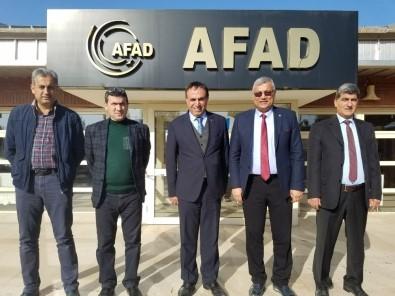 İtfaiyeden UMKE Ve AFAD'a Ziyaret