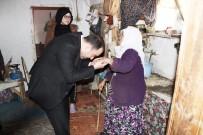 ONARIM ÇALIŞMASI - Kaymakam Karataş, İhtiyaç Sahibi Aileleri Ziyaret Etti