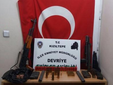 Kızıltepe'de Kavga Sonrası Cephanelik Ele Geçirildi