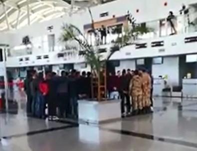 Komando Marşıyla Afrin'e Gittiler