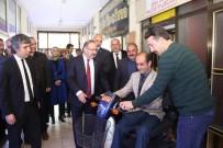 AKÜLÜ ARABA - Milletvekili Deligöz Oltu Sosyal Hizmetler  Müdürlüğü'nü Ziyaret Etti