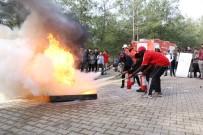 YANGIN TÜPÜ - Öğrencilere Yangın Eğitimi