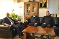 EMEKLİLİK - Sahil Güvenlik Komutanlarından Başkan Dinçer'e Ziyaret