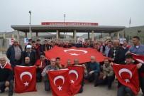 CİLVEGÖZÜ SINIR KAPISI - Saruhanlı Esnafından Suriye Sınırında Mehmetçik'e Destek