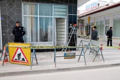 Şehidi icraya veren avukatın bürosuna saldırı