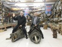 BALCı - Spor Yorumcusu Haldun Domaç'tan Türkiye Deniz Canlıları Balıkçı Kenan Müzesi'ne Övgü