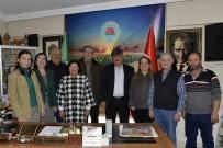 BOLAT - Tepebaşı Meclis Üyelerinden Ziraat Odasına Ziyaret