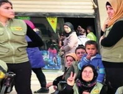 Terör örgütü YPG'den 'sivil' kamuflaj!