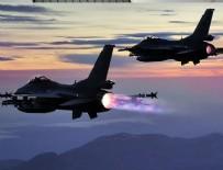 HAVA HAREKATI - TSK'dan Irak'ın kuzeyine hava harekatı: 16 hedef imha edildi