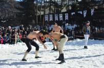 BAŞPEHLİVAN - Türkiye'nin Kar Sütündeki Tek Karakucak Güreşleri İngiliz Basınında