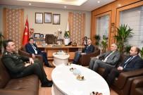 TAZİYE ZİYARETİ - Vali Küçük'ten Başkan Taban'a İade-İ Ziyaret
