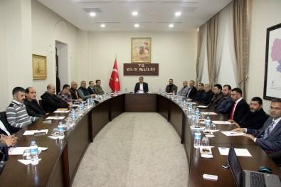 Vali Tekinarslan, Suriye Geçici Hükümeti Meclis Üyeleri İle Bir Araya Geldi