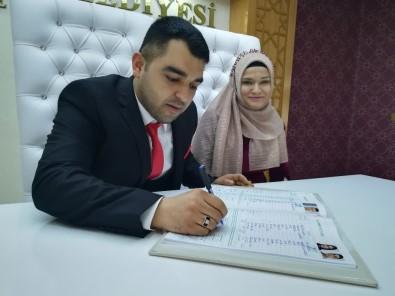 14 Şubat İçin Kırşehir'de 11 Çift Nikah Masasına Oturdu